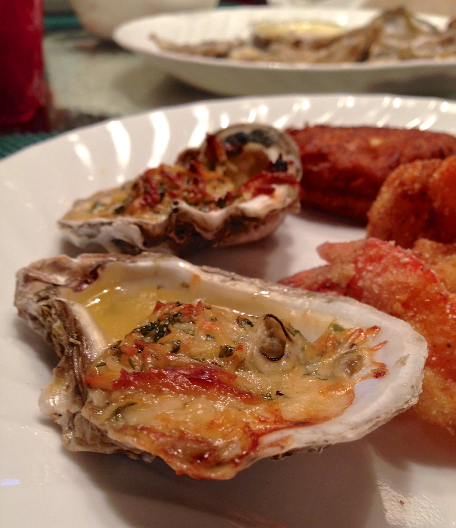 garlic parmesan baked oysters | cooking from the heart